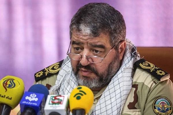 واکنش سردار جلالی به حضور ناوهای اسرائیلی در خلیج فارس تحت ائتلاف آمریکا/ با کسی شوخی نداریم