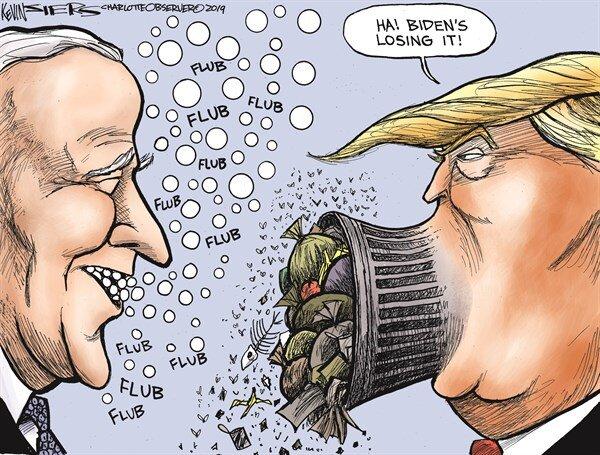دهن ترامپ ... شد!